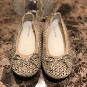Stuart Weitzman Gold Shoes for girls